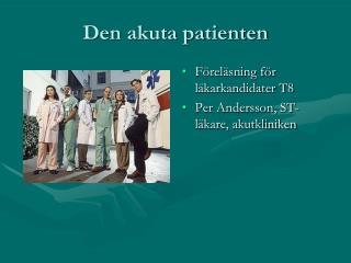 Den akuta patienten