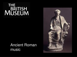 Ancient Roman music