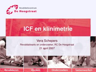 ICF en klinimetrie