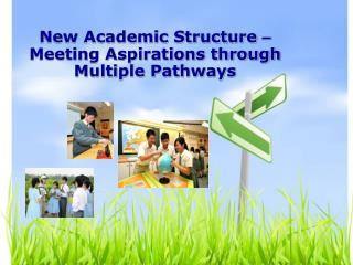New Academic Structure    Meeting Aspirations through Multiple Pathways