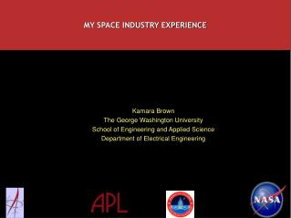 MY SPACE INDUSTRY EXPERIENCE