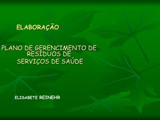 ELABORA  O