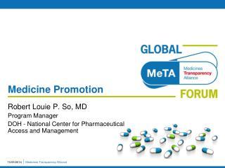 Medicine Promotion