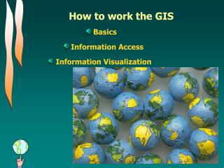 How to work the GIS