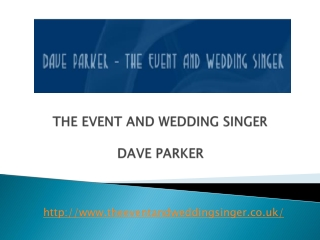The Event And Wedding Singer