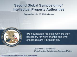 IP5 Foundation Projects: why are they necessary for work sharing and what challenges are IP5 taking on