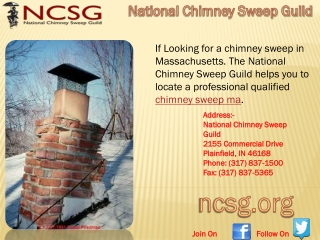 Chimney Sweep in MA