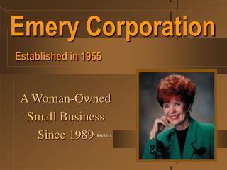 Emery Corporation  Established in 1955