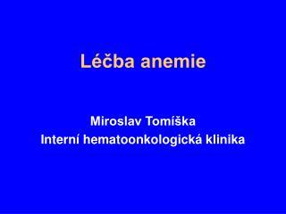 L cba anemie
