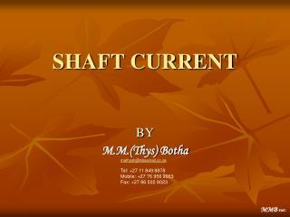 SHAFT CURRENT