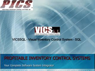 PROFITABLE INVENTORY CONTROL SYSTEMS