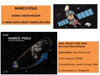 MARCO POLO  COSMIC VISION MISSION  A  NEAR-EARTH OBJECT SAMPLE RETURN
