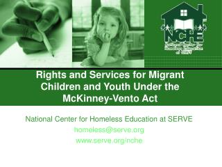 Rights and Services for Migrant Children and Youth Under the McKinney-Vento Act