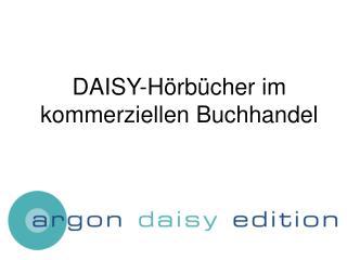 DAISY-H rb cher im kommerziellen Buchhandel