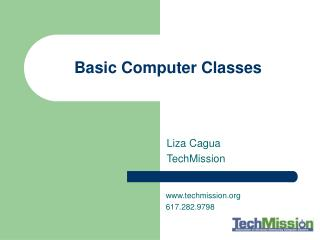 Basic Computer Classes