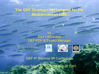 The GEF Strategic Partnership for the Mediterranean LME    by Alex Lascaratos GEF