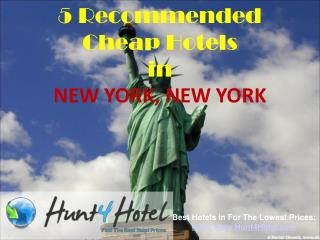 New York - 5 Recommended Cheap Hotels
