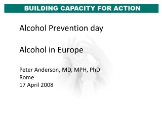 The Effect of Alcohol Advertising on Alcohol Consumption