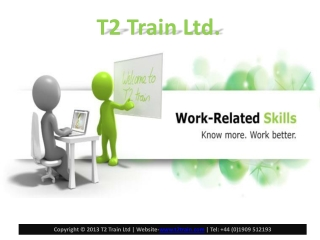 Authorised Autodesk training and Revit Lt courses by T2train