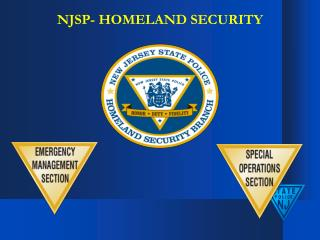 NJSP- HOMELAND SECURITY