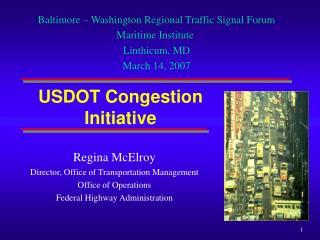 USDOT Congestion Initiative