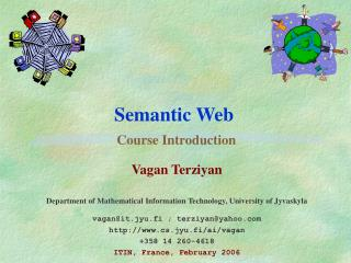 Semantic Web   Course Introduction