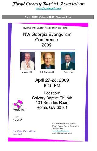 Floyd County Baptist Association floydbaptist