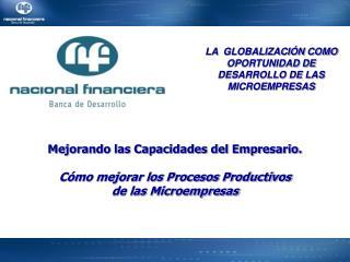 Mejorando las Capacidades del Empresario.  C mo mejorar los Procesos Productivos de las Microempresas