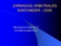 JORNADAS ARBITRALES SANTANDER - 2006