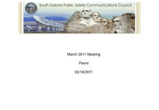 March 2011 Meeting  Pierre  03