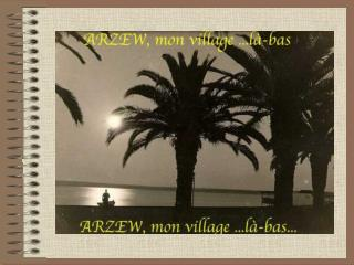 A 41 km au Nord Est dOran, se trouve lune des plus belles baies de la c te alg rienne, la Baie dArzew, tr s bien prot g