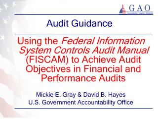 Audit Guidance