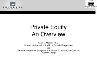 Private Equity An Overview