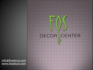 Fos Decor Center - Wedding Decoration Toronto