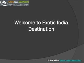 Exotic india destinatio