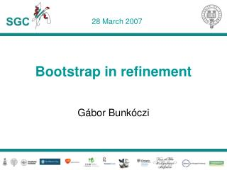 Bootstrap in refinement
