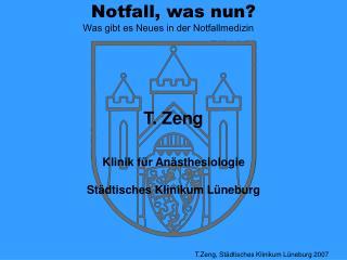 Notfall, was nun