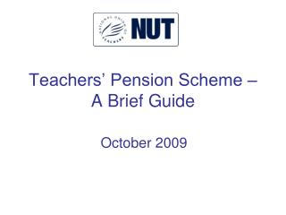 Teachers  Pension Scheme   A Brief Guide