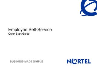 Employee Self-Service Quick Start Guide