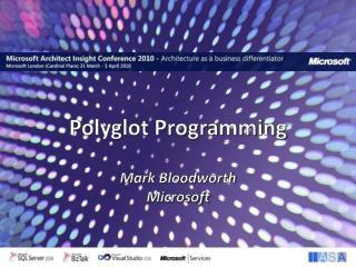 Polyglot Programming