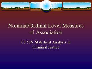 Nominal