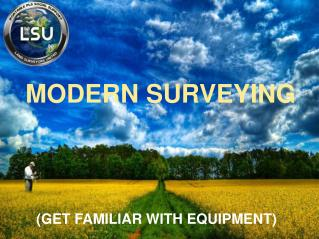 MODERN SURVEYING