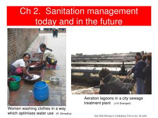 Ch 2.  Sanitation management today and in the future