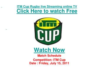 watch southland vs waikato itm cup rugby match live streamin