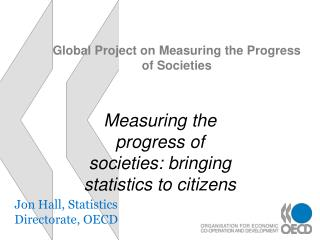 Global Project on Measuring the Progress of Societies