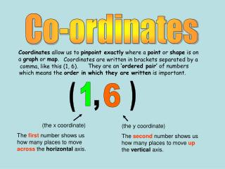 Co-ordinates