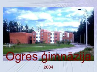 Ogres gimnazija