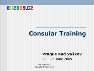 Consular Training