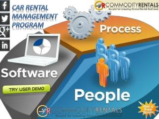 Car Rental Management Software Programs