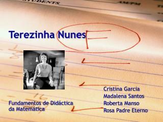 Terezinha Nunes
